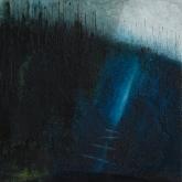 'Footbridge' 20cm x 20cm, Oil On Canvas