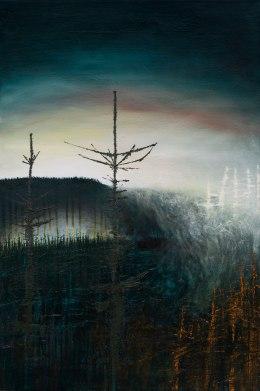 'Turning Seasons' Oil on Canvas