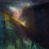 'Ledge' 61cm x 61cm Oil, Mixed Media on Canvas