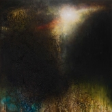 'Washed Out Season' 120cm x 120cm Oil, Mixed Media on Canvas