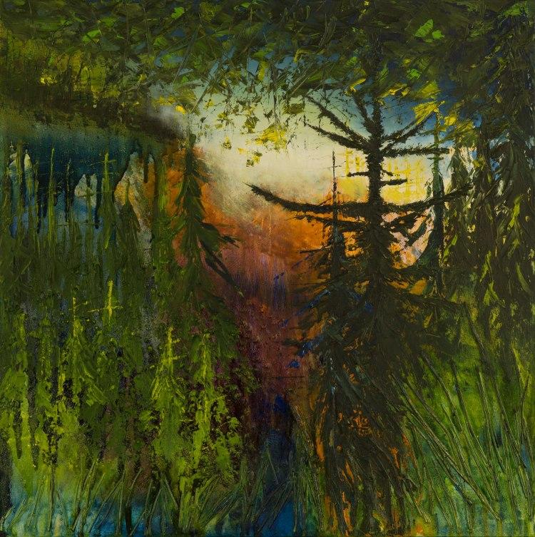 i-am-consumed_50cm-x-50cm_oil-mixed-media-on-canvas