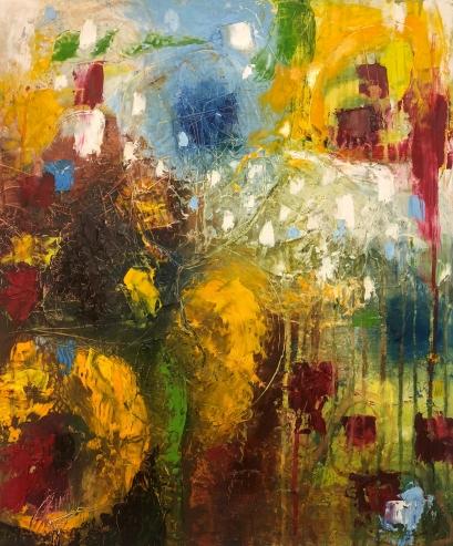 'Shimmer', 50 x 60cm, Price: €600