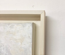 Framed in limed wood