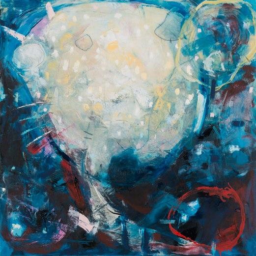 Lucid Dream, Oil on Canvas, 80x80cm