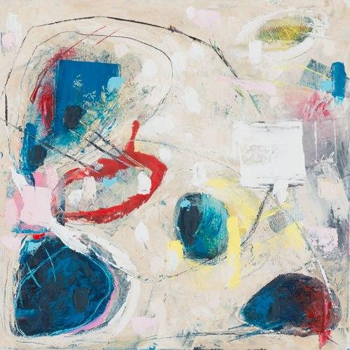 Alcor, Oil on Canvas, 30x30m