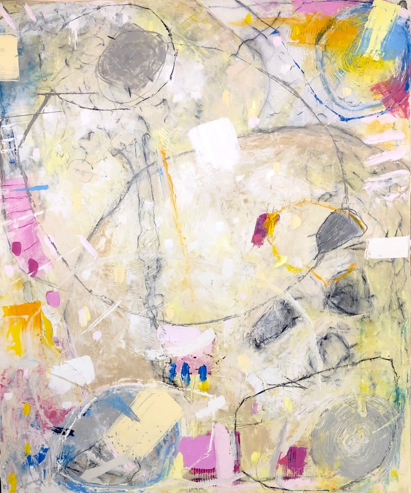 Full Moon painting – ProcessTimelapse